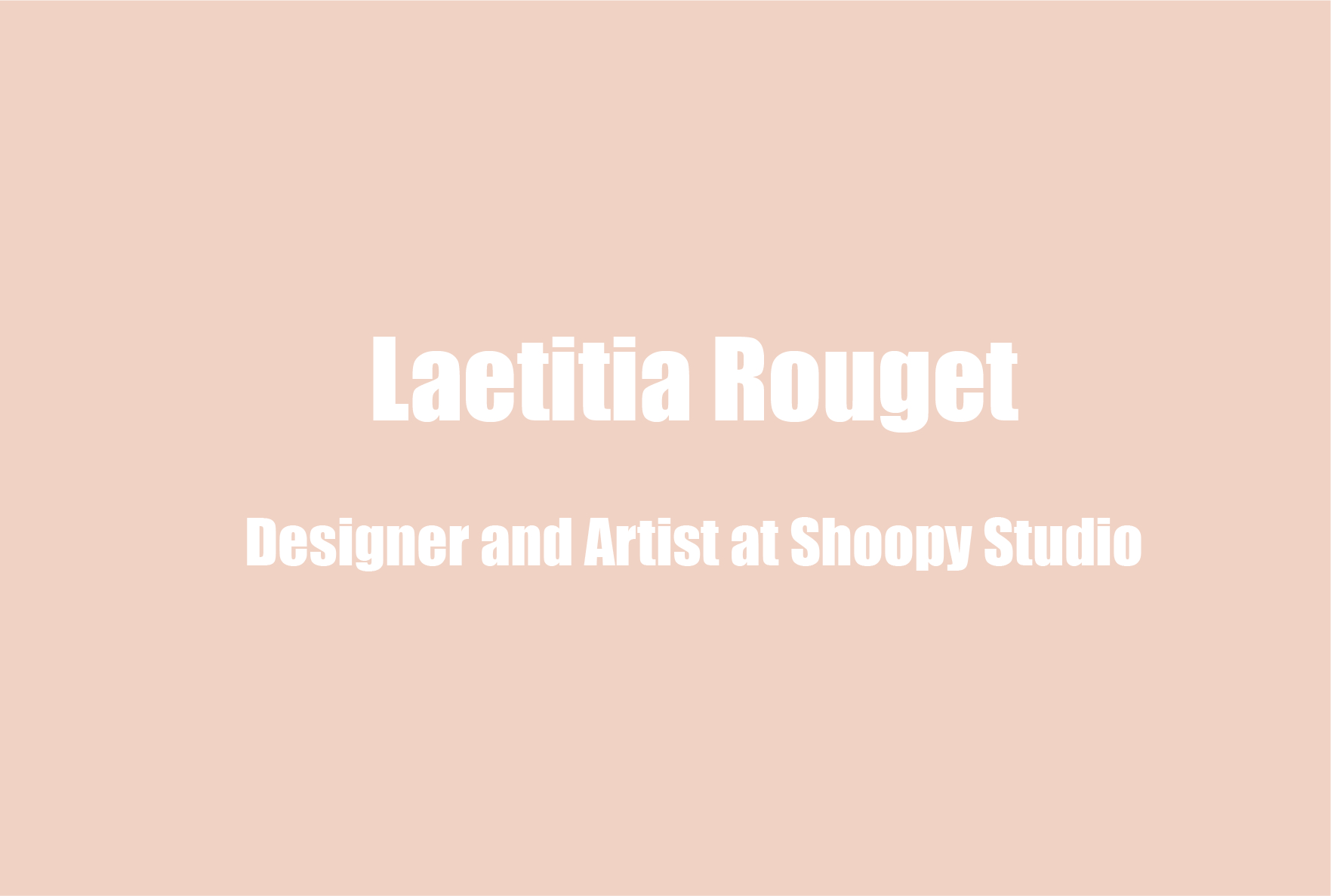 Laetitia Rouget on Upcycling Material for Art, Making a Career Shift, and Anxiety