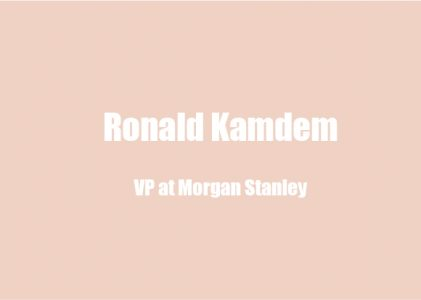 Ronald Kamdem on Meaningful Living, Wellness & Work, and Advice To Live By