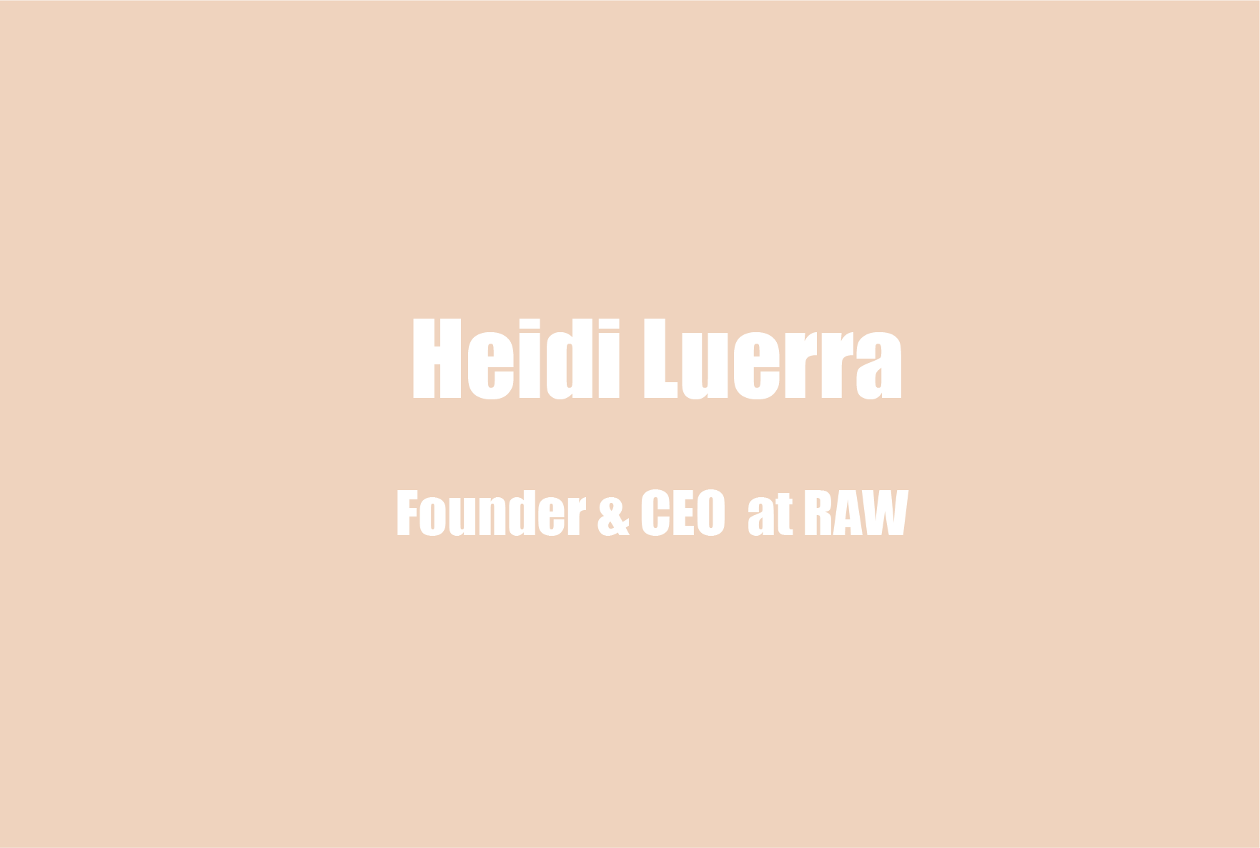 Heidi Luerra on Stigma, Having Family That is Mentally Ill and Educating Employees on Mental Health