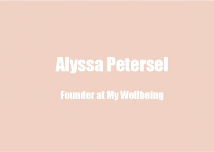 Alyssa Petersel on Startup Founder Mental Health, the  Culture-Generational Move Towards Vulnerability, and Finding Good Therapists