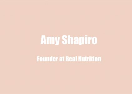 Amy Shapiro on Balancing Probiotics and Prebiotics Intake & Tips on Foods That Increase Mental Wellbeing
