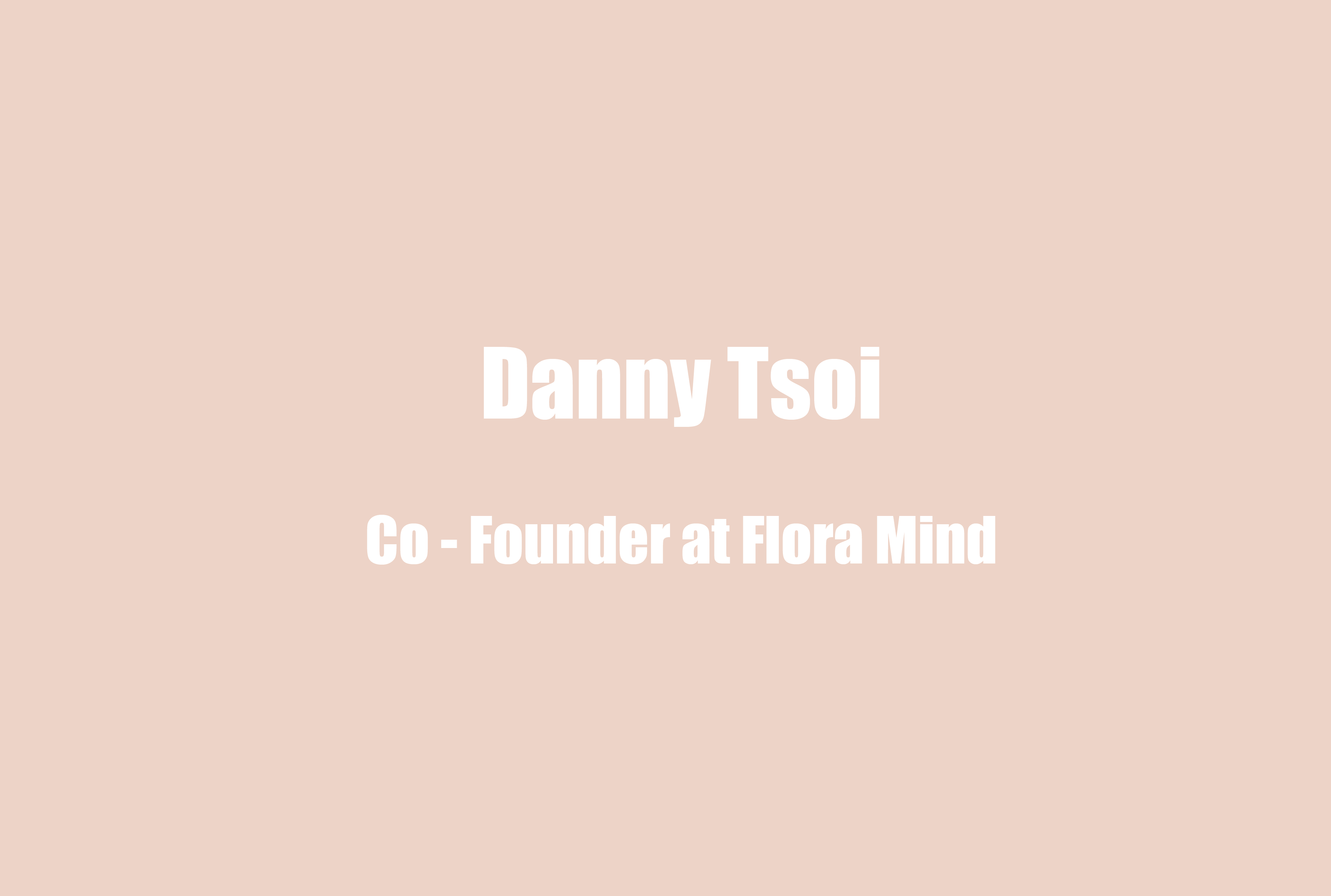 Co-founder and COO of FloraMind, Danny Tsoi, on Using Hiphop Music to Talk Mental Health with Youth, Differentiating Typical Youth Development from Mental Illness, and the Criticality of Checking In with Yourself to Protect your Wellbeing