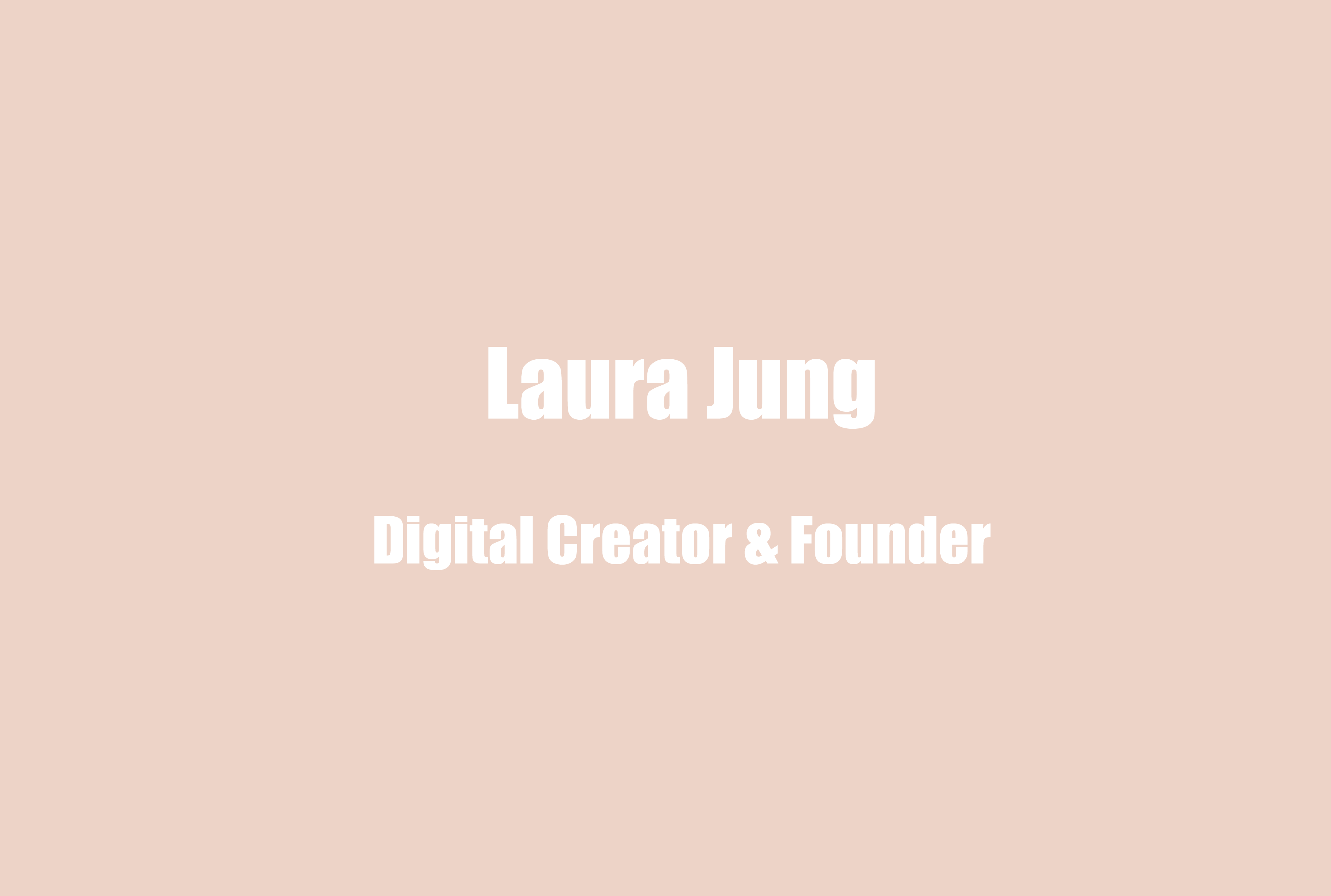 """Laura Jung, Digital Creator & Founder of Event Series @skincontactnyc on the Unique Risks for """"Burnout"""" as an Influencer and What Fuels Her Love for [Online] Community"""